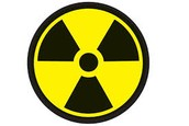 The sign for nuclear energy
