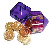 chocalate coins