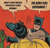 Batman and Bobo Doll Experiment