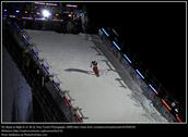 Amazing night snowboarding.