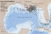 gulf spill located