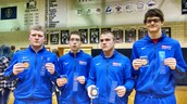 Four Wrestlers are County Champions