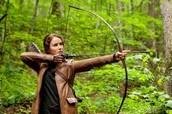 Katniss has many skills like......
