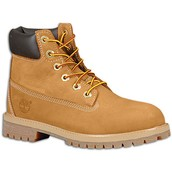 Timberland boots are very popular.