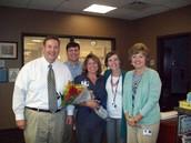 Congratulations, Mrs. Gobbi!