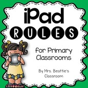 FREE iPad Rules for Primary Classrooms!