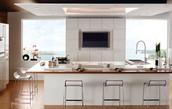 Beautiful White Kitchen Design Idea