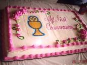 First Communion Cake!