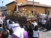 Holy Easter Week in Antigua, Guatemala