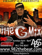 The G-Mix with Henry G on 98.2 The Beat