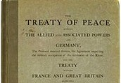 Peace treaty that ended World War One