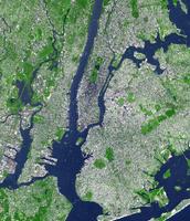 תצלום לוייני של העיר ניו יורק