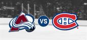 Avalanche vs. Canadiens
