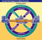 Circular Flow of Mixed Economies