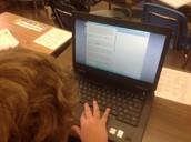 Interactive Achievement reading in Kim Correiro's room (formative information; applying reading skills)