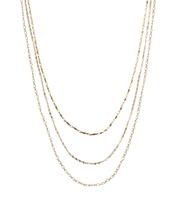 Libby Layering Necklace - Gold was $69 now $34.50