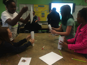 JN Fries Building Tower Competition during Engineering Week