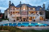 His Beautiful House