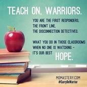 Teach on Warriors