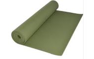 A yoga mat or towel