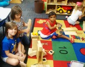 Toy and Block centers