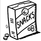 Our Snack & Share Friends next week are: