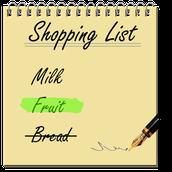 Qu'est-ce qu'il faut acheter?