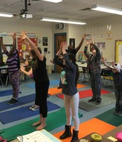 Classroom Yoga in Mrs. Garreston's class!
