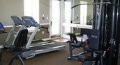 Work on your beach bod in our fitness center!