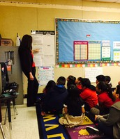 Ms. Aranda introducing the LO and DOL prior to the lesson