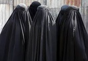 Burka that are required to wear