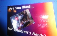 ARE YOU BLIND FOR THE CHILDRENS' NEEDS ??