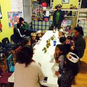 Convivio de acción de gracias / The Thanksgiving potluck