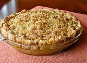Une tarte aux pomme