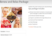 Renew and relax package