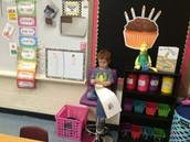 Reading around the room in Kindergarten