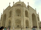 Taj Mahal from the sides