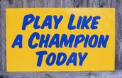 Play Like a Champion Training for ALL Coaches and Parents