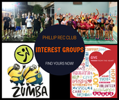 Phillip Rec Club - Interest Groups