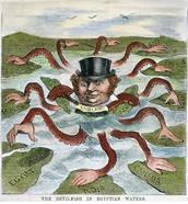 Cartoon of Imperialsim