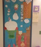 Ms. Dooley's Happy Celebration door!