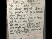 2nd Grade Mission Statement