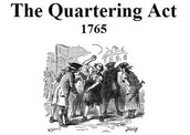 Quartering act and The Townshed Act