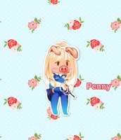 The Three Little Pigs, Penny
