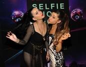 Katy and Ariana