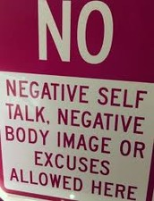 Advice for improving body image in oneself