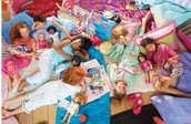 You can even take your dolls for sleepovers