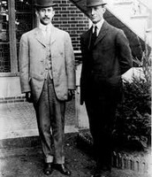 Wilber & Orville Wright as young men.