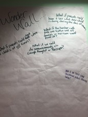 Continue to explore the Staff Wonder Wall & add comments, findings, thoughts.