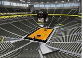 Interior of the Sprint Center